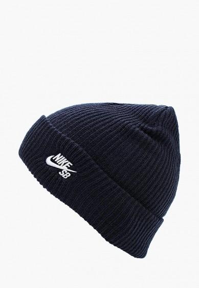 Купить Шапка Nike - цвет: синий, Китай, NI464CUUEW99