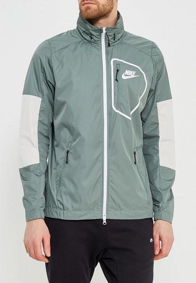 Купить Ветровка Nike - цвет: зеленый, Вьетнам, NI464EMAADH4