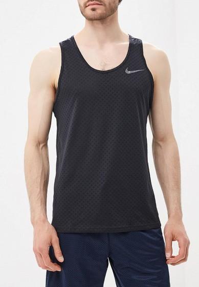 Купить Майка спортивная Nike - цвет: черный, Индия, NI464EMBBJE4