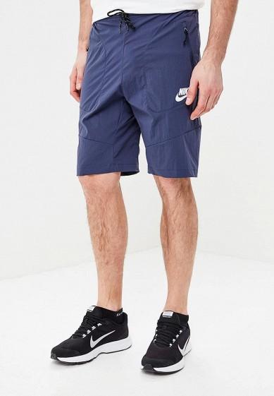 Купить Шорты спортивные Nike - цвет: синий, Вьетнам, NI464EMBBJF6