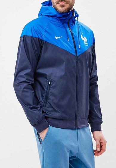 Ветровка Nike - цвет: синий, Вьетнам, NI464EMBBJH5  - купить со скидкой