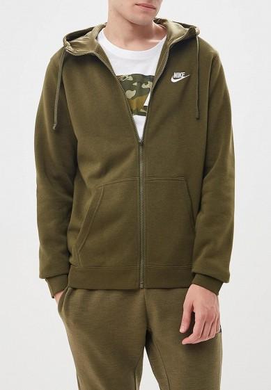 Купить Толстовка Nike - цвет: хаки, Пакистан, NI464EMBWDI8
