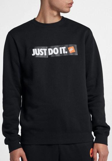 Купить Свитшот Nike - цвет: черный, Камбоджа, NI464EMBWIB7
