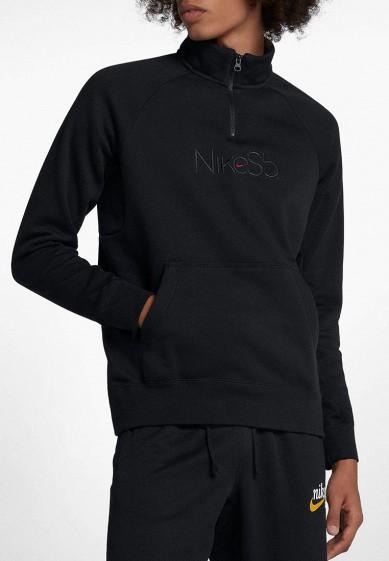 Купить Олимпийка Nike - цвет: черный, Малайзия, NI464EMBWII9