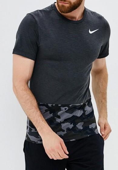 Купить Футболка спортивная Nike - цвет: серый, Шри-Ланка, NI464EMBWIQ8
