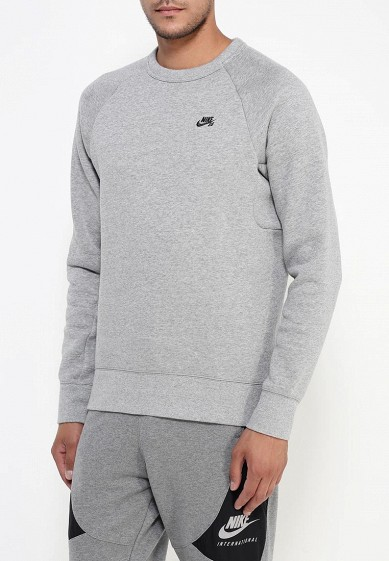 Купить Свитшот Nike - цвет: серый, Камбоджа, NI464EMJFN46
