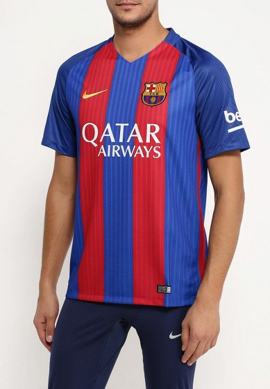 Футболка спортивная Nike Men's FC Barcelona Stadium Top