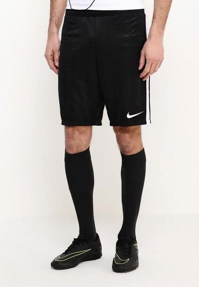 Купить Шорты спортивные Nike - цвет: черный, Таиланд, NI464EMPKL36
