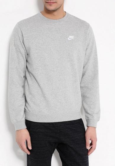 Купить Свитшот Nike - цвет: серый, Китай, NI464EMPKO35