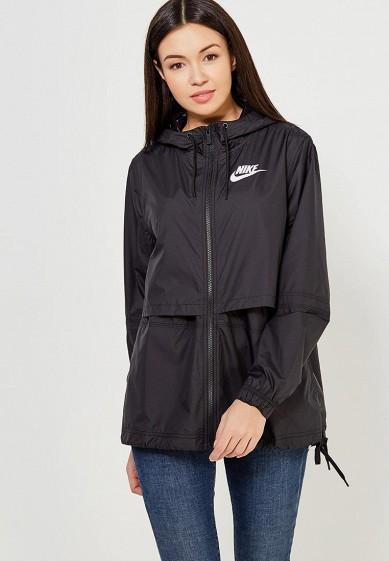 Купить Ветровка Nike - цвет: черный, Вьетнам, NI464EWAAGZ4