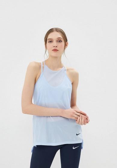Купить Майка спортивная Nike - цвет: голубой, Таиланд, NI464EWBBKL4
