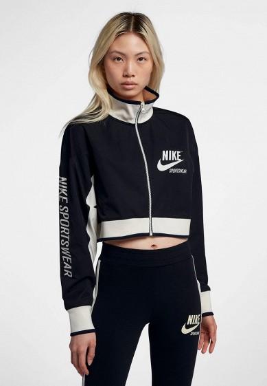 Купить Олимпийка Nike - цвет: черный, Таиланд, NI464EWBBKV1