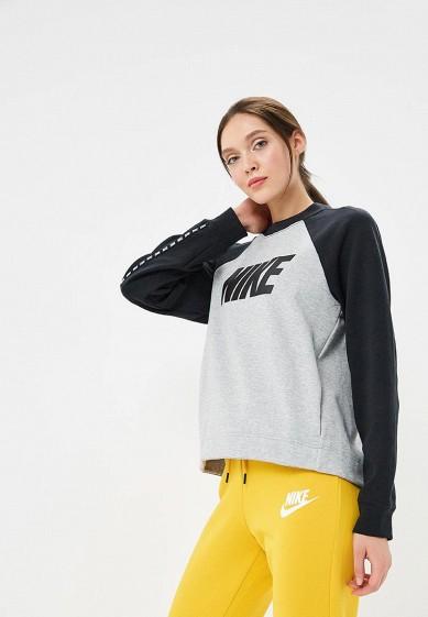 Купить Свитшот Nike - цвет: серый, Малайзия, NI464EWBWJZ9