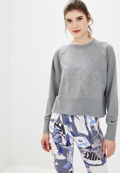 Купить Свитшот Nike - цвет: серый, Китай, NI464EWCMLV4
