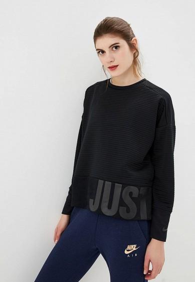 Купить Свитшот Nike - цвет: черный, Таиланд, NI464EWCMLV7