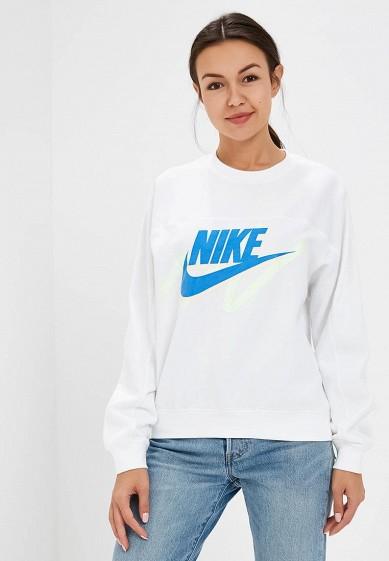 Купить Свитшот Nike - цвет: белый, Малайзия, NI464EWCQJI3