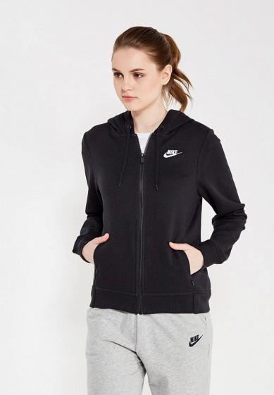 Купить Толстовка Nike - цвет: черный, Пакистан, NI464EWUGV96