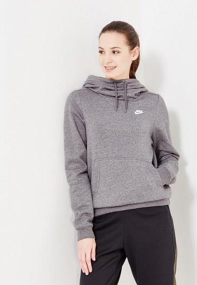 Купить Худи Nike - цвет: серый, Пакистан, NI464EWUHC42