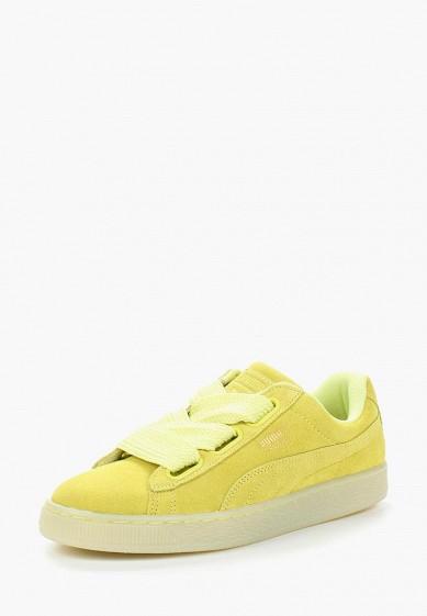 Купить Кеды PUMA - цвет: желтый, Вьетнам, PU053AWQOW77