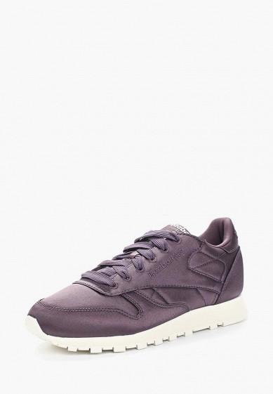 Купить Кроссовки Reebok Classics - цвет: фиолетовый, Китай, RE005AWALJH9