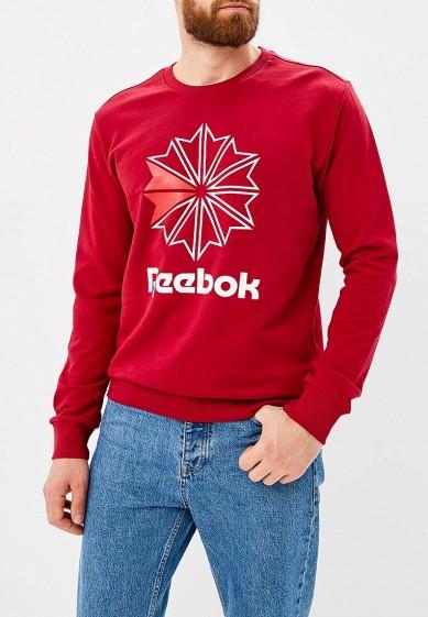 Купить Свитшот Reebok Classics - цвет: бордовый, Пакистан, RE005EMCDKO4