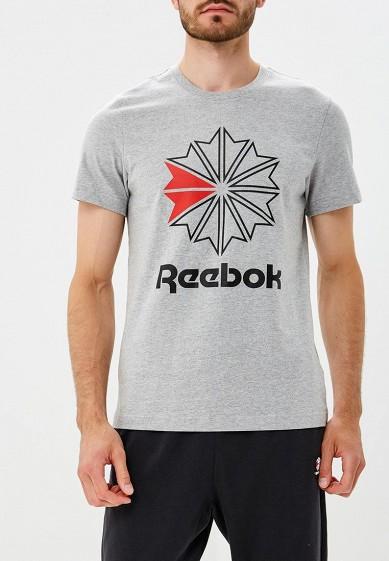 Купить Футболка Reebok Classics - цвет: серый, Вьетнам, RE005EMCDKO5