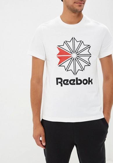 Купить Футболка Reebok Classics - цвет: белый, Вьетнам, RE005EMCDKP0