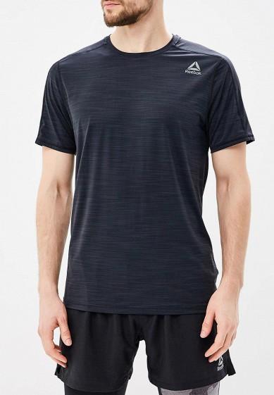 Купить Футболка спортивная Reebok - цвет: черный, Вьетнам, RE160EMALMN7