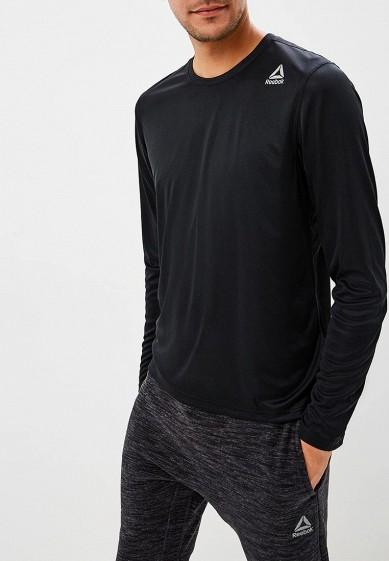 Лонгслив спортивный Reebok - цвет: черный, Камбоджа, RE160EMCDMG8  - купить со скидкой