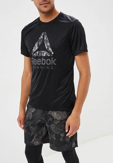 Купить Футболка спортивная Reebok - цвет: черный, Вьетнам, RE160EMCDML0