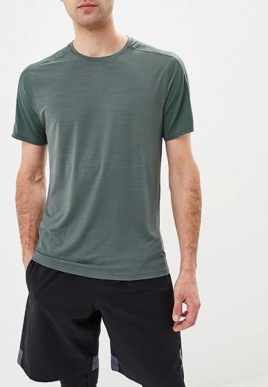 Купить Футболка спортивная Reebok - цвет: зеленый, Вьетнам, RE160EMCDMN2