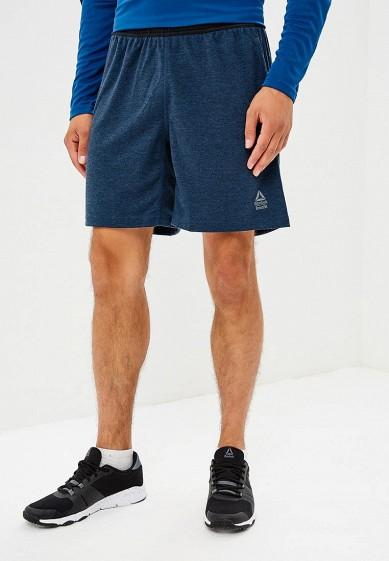 Купить Шорты спортивные Reebok - цвет: синий, Камбоджа, RE160EMCDMQ9