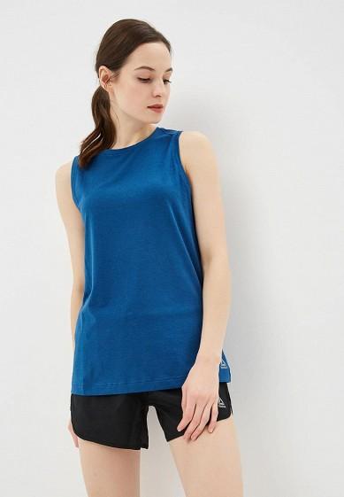 Майка спортивная Reebok - цвет: синий, Камбоджа, RE160EWCDNT9  - купить со скидкой
