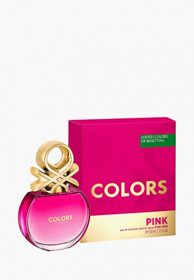 Туалетная вода United Colors of Benetton Colors PINK 50 мл