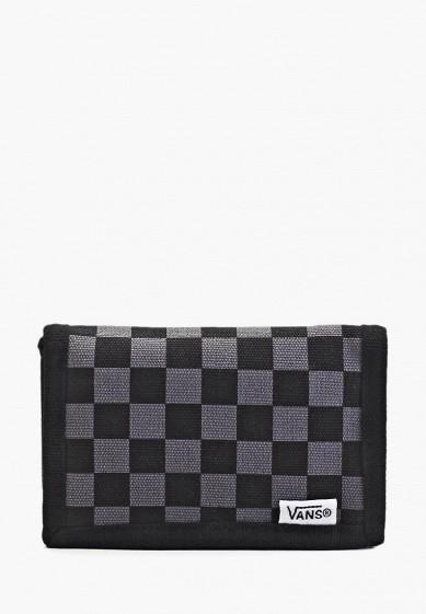 Купить Кошелек Vans - цвет: черный, VA984BMGY624