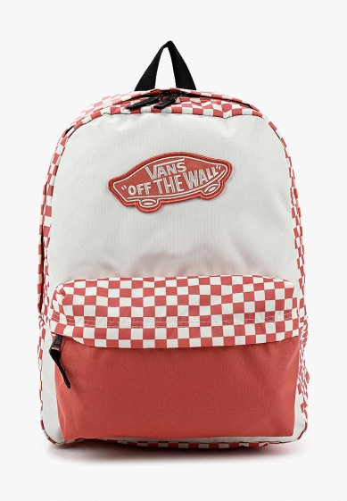 Рюкзак Vans - цвет: коралловый, Камбоджа, VA984BWAJWS6  - купить со скидкой
