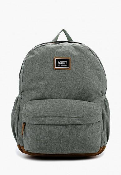 Рюкзак Vans - цвет: зеленый, Камбоджа, VA984BWVZR79  - купить со скидкой