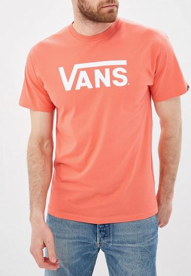 Купить Футболка Vans - цвет: розовый, Грузия, VA984EMBMOJ3