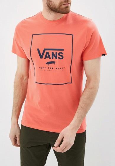 Купить Футболка Vans - цвет: розовый, Грузия, VA984EMBMOK2