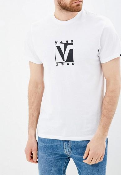 Купить Футболка Vans - цвет: белый, Грузия, VA984EMBMOK9