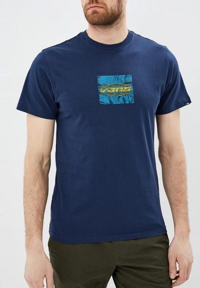 Купить Футболка Vans - цвет: синий, Грузия, VA984EMBMOL2