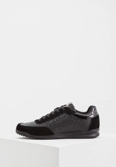Купить Кроссовки Versace Jeans - цвет: черный, Китай, VE006AMBUZR4