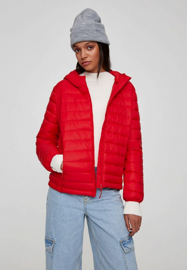 Куртка утепленная Pull&Bear за 1 300 ₽. в интернет-магазине Lamoda.ru