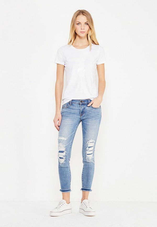 Джинсы J Brand LOW RISE CROP SKINNY
