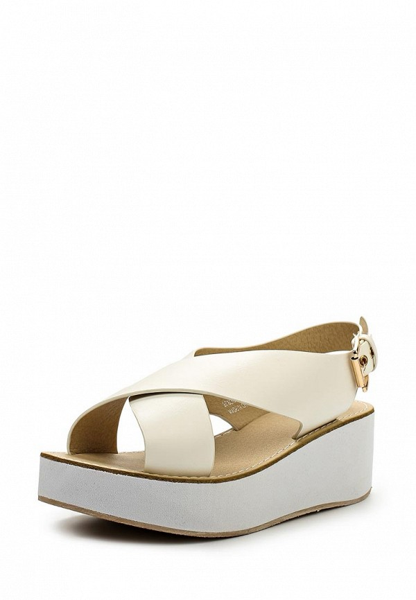 Сандалии LOST INK NOAT FLATFORM SANDAL WHITE