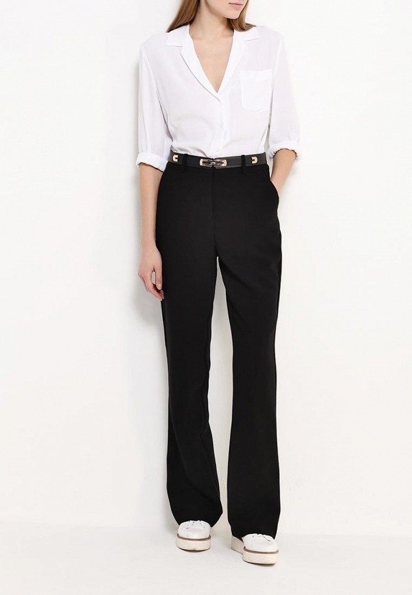 Брюки LOST INK TAILORED FLARE WITH BELT