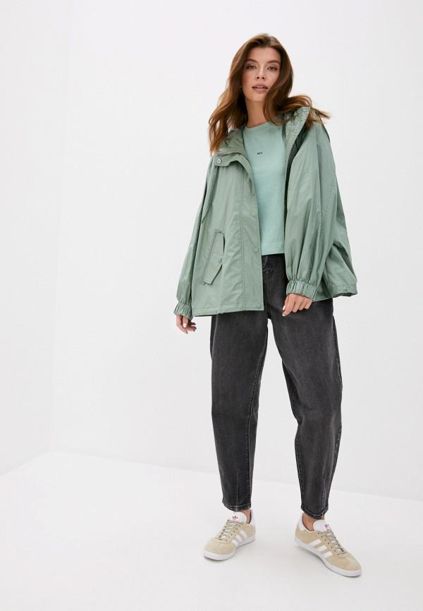 Куртка Sela - цвет: зеленый, коллекция: демисезон, лето. БЕСПЛАТНАЯ доставка по России!