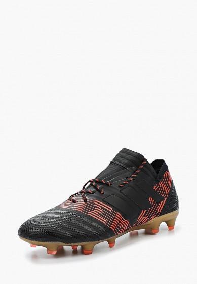 Купить Бутсы adidas - цвет: черный, Вьетнам, AD002AMALVJ0