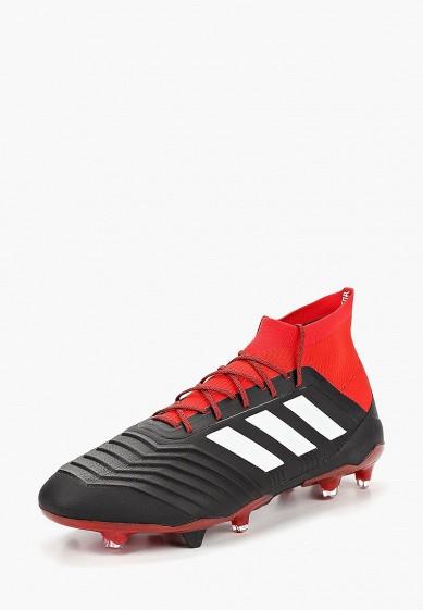 Купить Бутсы adidas - цвет: черный, Индонезия, AD002AMCDIX6