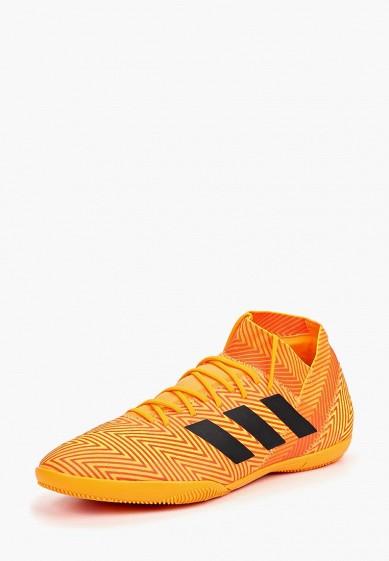 Купить Бутсы зальные adidas - цвет: оранжевый, Вьетнам, AD002AMCDJB0